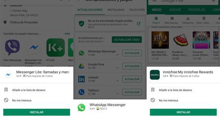 Google Play añade el toque prolongado para obtener información de una app rápidamente