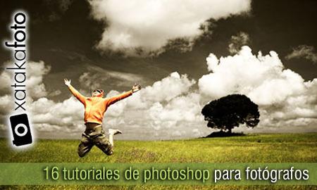 16 tutoriales de photoshop para fotógrafos