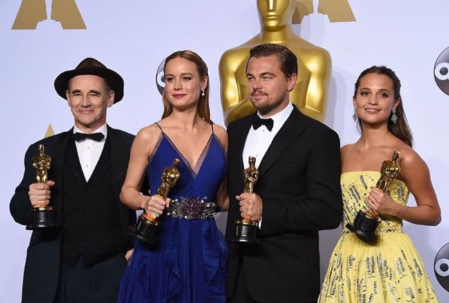 Los actores premiados