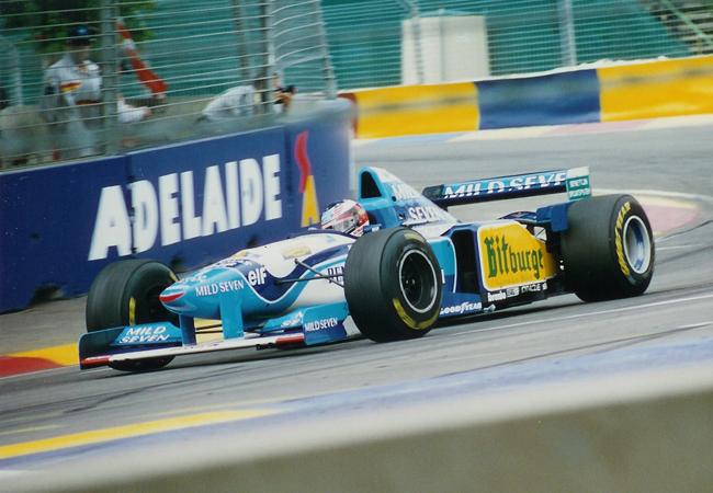 Michael Schumacher Benetton Adelaide 1995