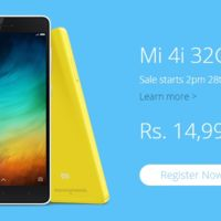 Xiaomi Mi 4i ya disponible con 32 GB de memoria... sólo en la India