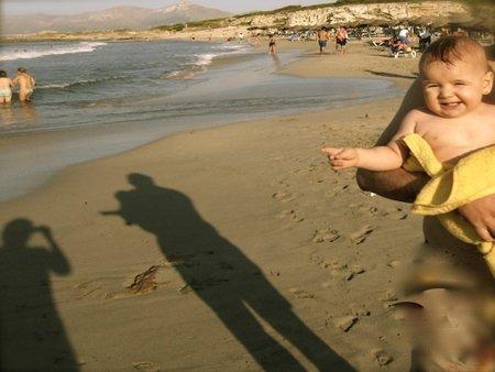 A la playa con un bebé... sobreviviré
