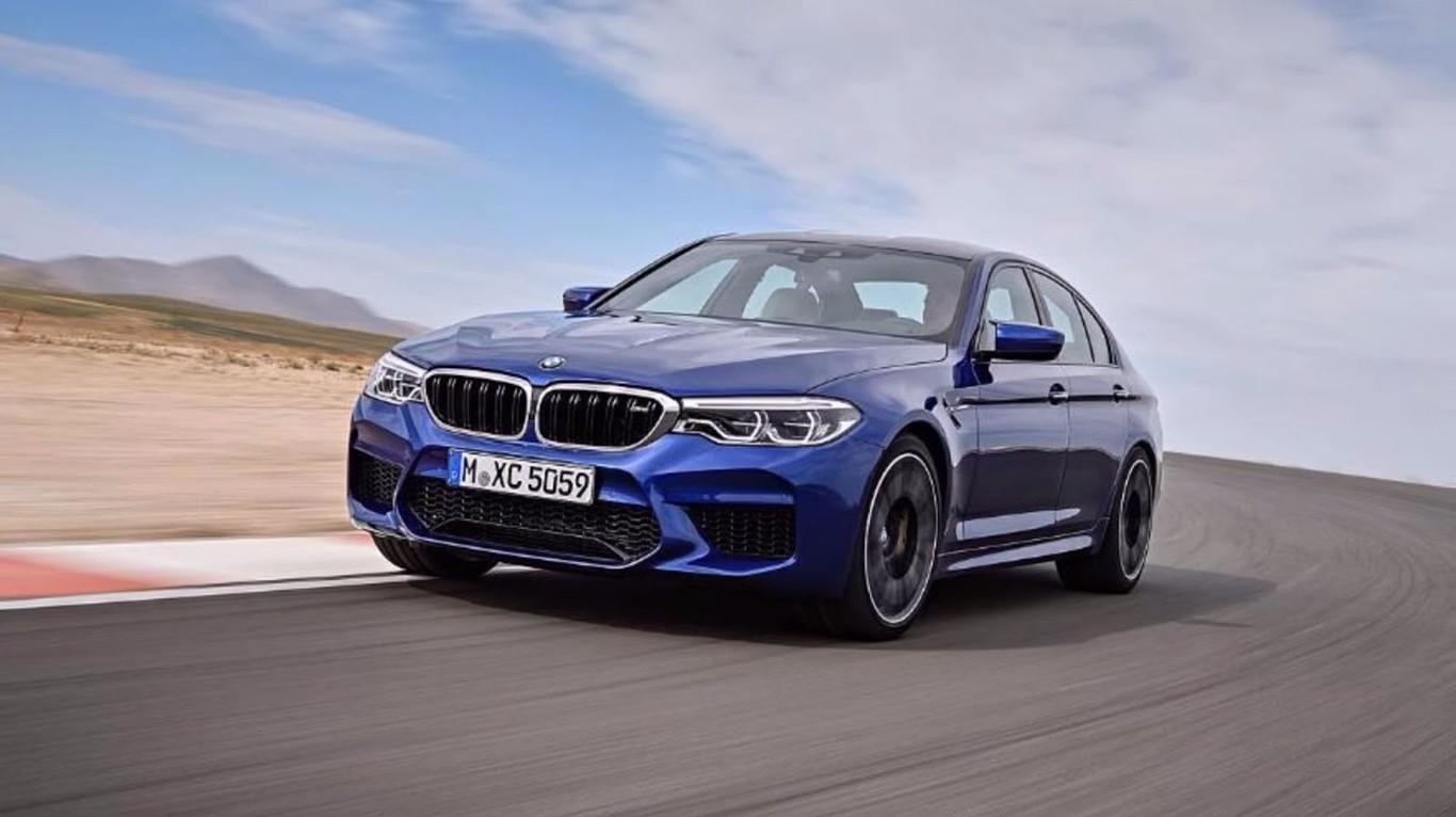 Mira el nuevo BMW M5