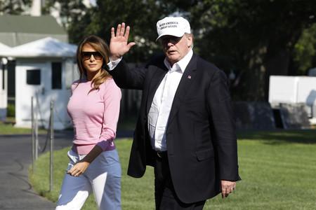 Melania Trump recupera el espíritu de Jackie Kennedy con su look años 50