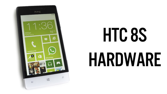 HTC 8S - hardware