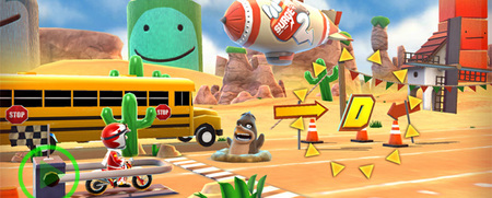 Hello Games presenta las primeras imágenes de 'Joe Danger Touch', la llegada del especialista a iOS