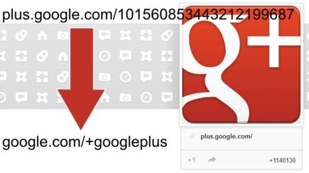 Por fin Google+ permitirá la personalización de la URL de perfiles y páginas