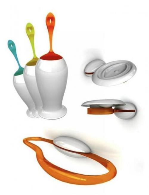 Accesorios Baño Amarillo:Fluid, accesorios para el baño
