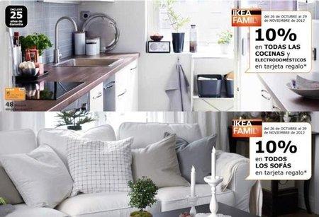 Ikea te devuelve el 10% de todas tus compras en cocinas, electrodomésticos y sofás
