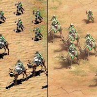 Así de bien luce Age of Empires II: Definitive Edition frente al clásico de 1999