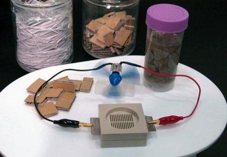 Gadgets que se alimentan de papel, el futuro según Sony