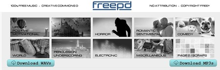 Freepd Com Free Public Domain Music Creative Commons 0 Completely Royalty Free
