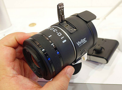 Kodak PixPro Smart Lens Camera y Vivitar IU680, cámara y objetivos intercambiables para ... smartphones