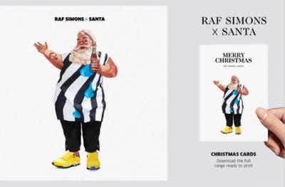 Estas Navidades, Papá Noel ha debido portarse muy bien pues estrena guardarropa
