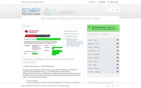 Crean en Alemania un libro escolar colectivo con licencia Creative Commons