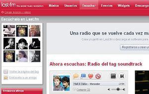 Bandas sonoras en Last FM