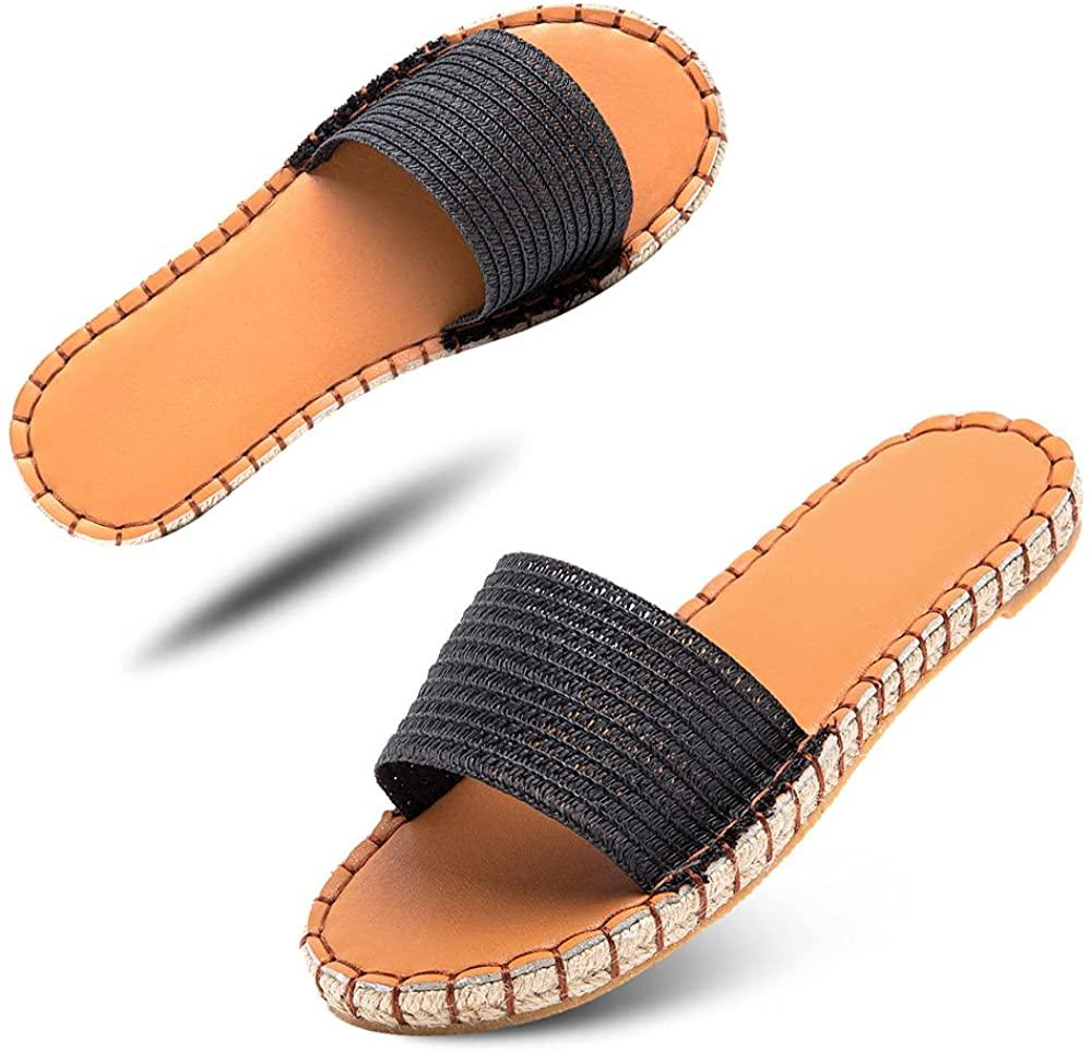 Sandalias Mujer Verano Planas de Hitmars