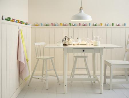 Rincón cocina blanca Ikea
