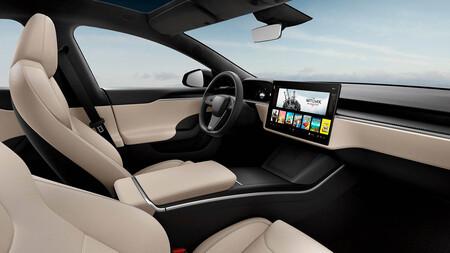Tesla Model S 2021 Volante normal