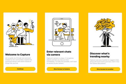 Capture: una especie de Reddit en la vida real que utiliza tu cámara para conectarte con grupos de personas