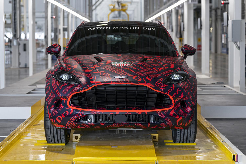 Foto de Aston Martin DBX, preproducción (15/23)