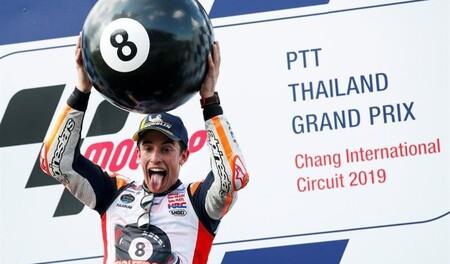 Márquez Tailandia Motogp 2019