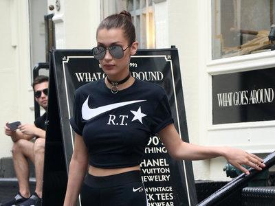 Bella Hadid es el nuevo rostro de Nike