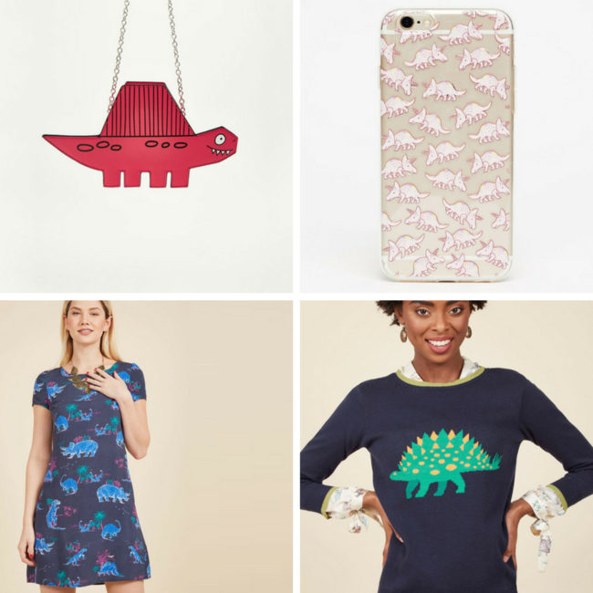 street style tendencia dinosaurios shopping
