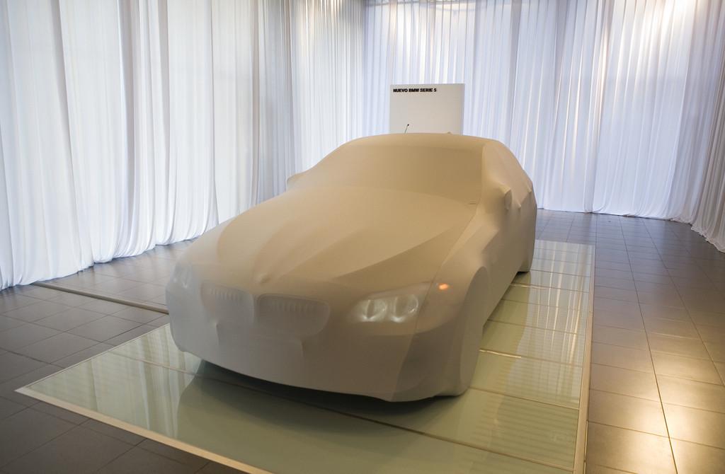 Foto de BMW Serie5 presentación estática en Madrid (1/9)