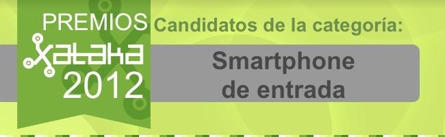 Mejor smartphone entrada 2012 candidatos