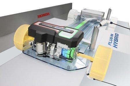 Plataforma Honda de coche hibrido enchufable