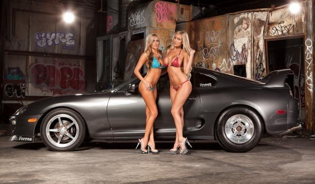 Toyota Supra de Jessica Barton
