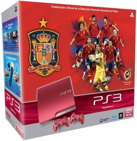 El 24 de mayo llega la edición limitada de PS3 roja. Sólo para los más futboleros