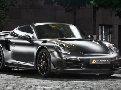 Auto-Dynamics Dark Knight, el 911 Turbo S que Batman compraría