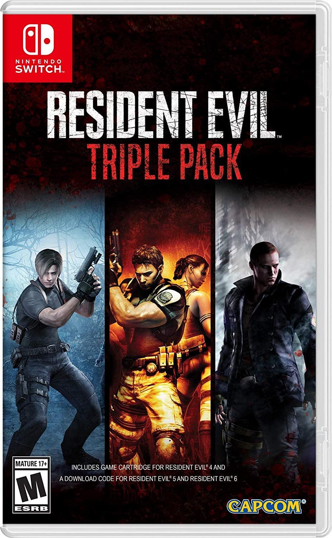 Resident Evil Triple Pack para Nintendo Switch