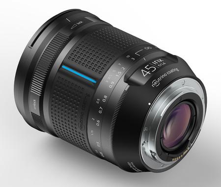 Objetivo Irix 45mm f1.4 foto en españa