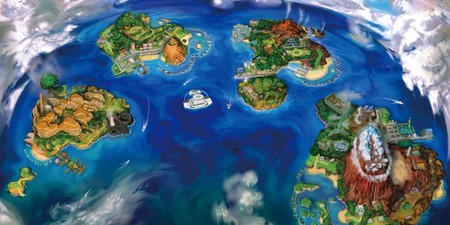 Pokemon Sun And Moons Alola Region