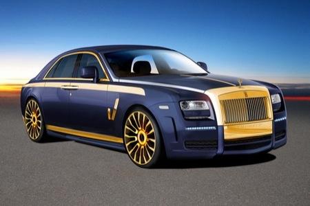 Rolls-Royce Ghost por Mansory