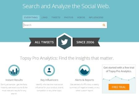 Topsy, la herramienta de búsqueda y análisis de Twitter, ha cerrado