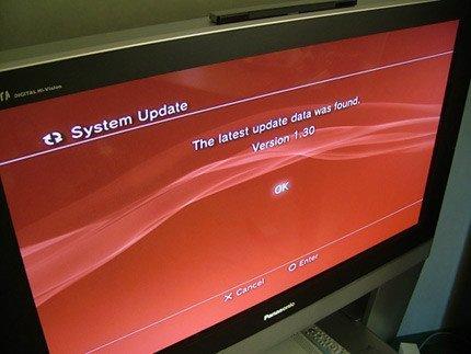 Firmware 1.30 de PS3 ya disponible