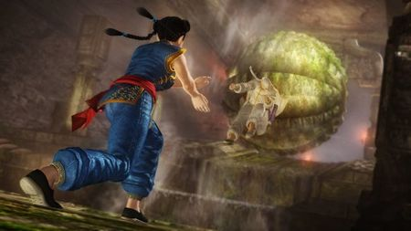 Pai Chan ('Virtua Fighter') tampoco faltará a la gran cita del 'Dead or Alive 5'. Aquí la tenemos junto al maestro Gen Fu
