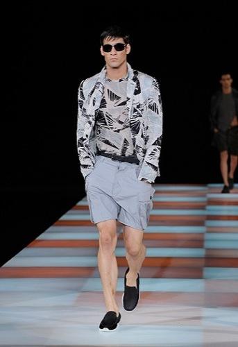 Emporio Armani, Primavera-Verano 2010 en la Semana de la Moda de Milán