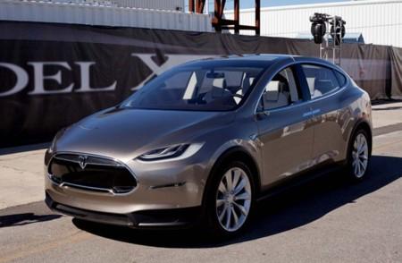 Tesla Model X gris