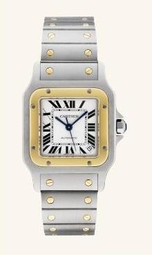 Reloj cartier santos de mujer