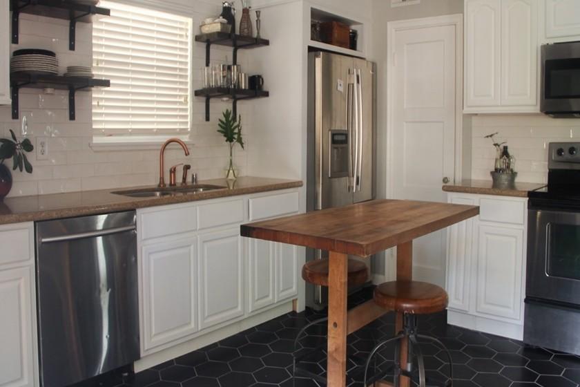 Antes y después: una cocina que pasa de vieja y aburrida a centro ...