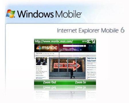 Internet Explorer Mobile 6, sus exigencias y futuro