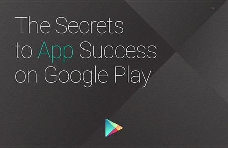 "Google ofrece gratis la guía para desarrolladores ""The Secrets to App Success on Google Play"""
