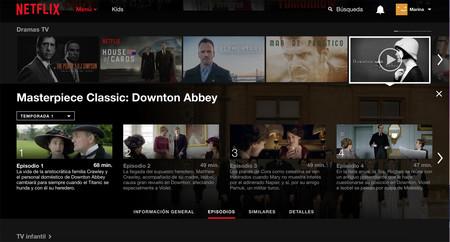 Downton Netflix