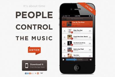 Anthm, democracia musical para tus fiestas
