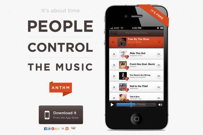 Anthm, democracia musical
